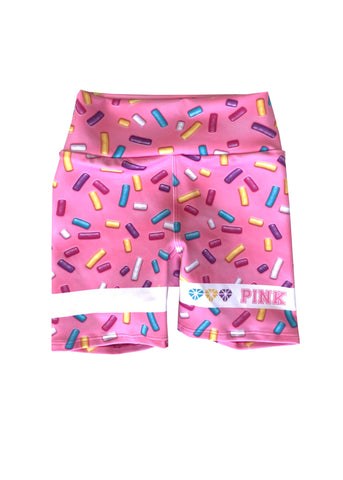 Mini Punk 'LA CATRINA' Biker Shorts