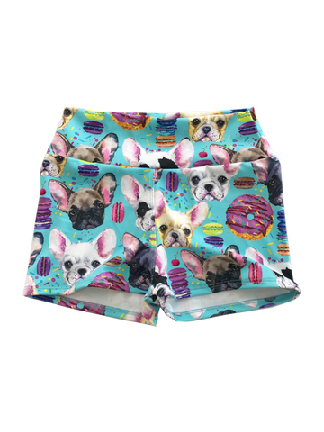 Mini Punk Puppy Party 3/4 Tights