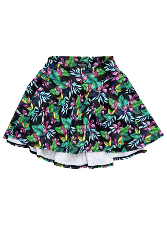 Mini Punk 'NEON UNICORN' Biker Shorts