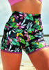 Body Contouring Compression Pocket SHORTIES - PARADISO