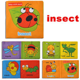 Educational Intelligence Development Soft Cloth Books For Your Baby