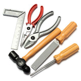 Childs Building Tool Kit Set DIY Construction Toy