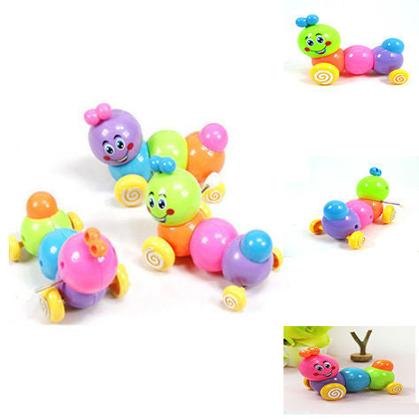 Lovely Colorful Educational Caterpillar Wind-up Toy