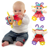 Plush Rattle Crinkle Toys Teether Towel