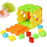 Colorful Block Matching & Sorting Intelligence Educational Toy For Kids