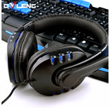 Q7 USB Gaming Headphone Headset With Microphone and Volume Control