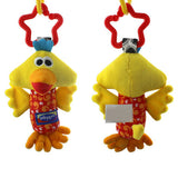 Rattle Tinkle Hand Bell Multifunctional Plush Toy