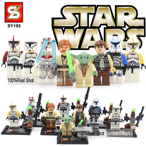 Movie Theme Action Minifigure Toys with Building Blocks