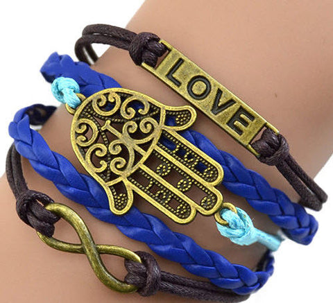 Braided Love Bracelet 0005L