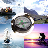 1pcs American Military Portable Folding Lens Multi-function Compass