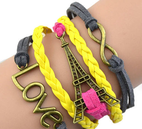 Yellow Braided Tower 0001y