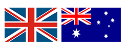 UK and Australia Ring Size
