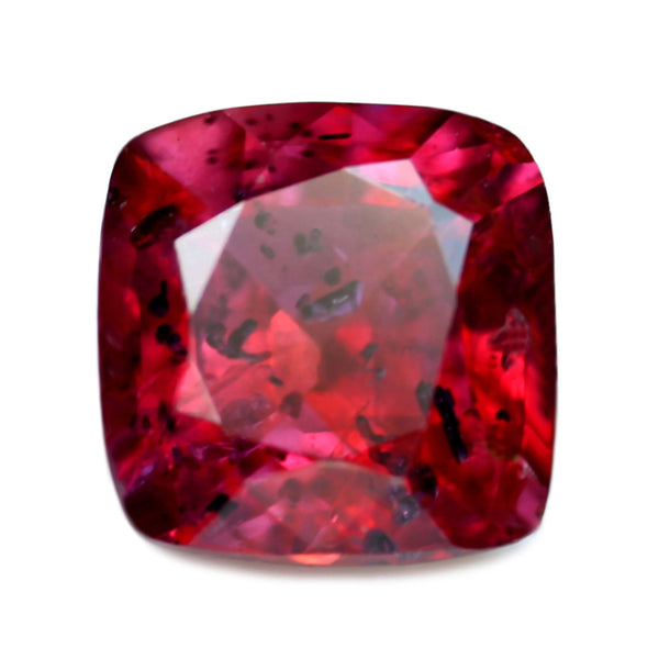 0.62ct Certified Natural Red Color Ruby