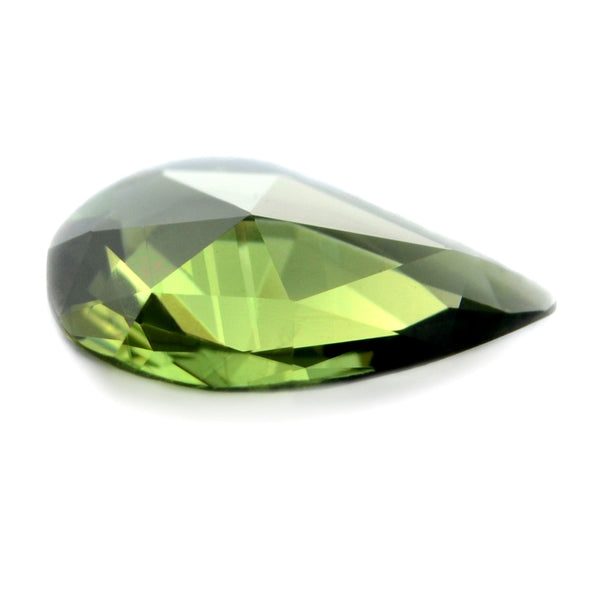 0.65 ct Certified Natural Green Sapphire