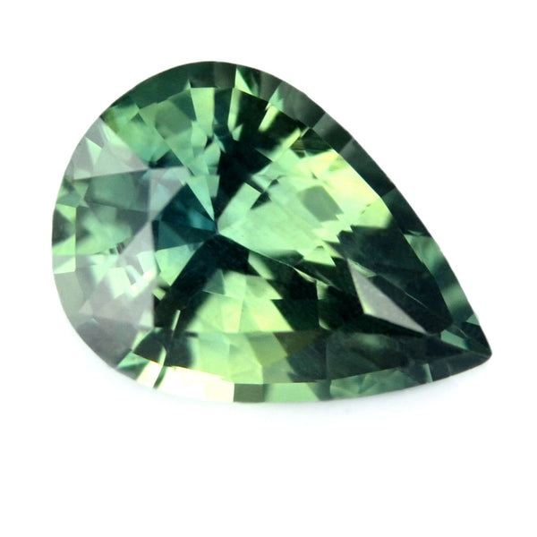 0.72 ct Certified Natural Multicolor Sapphire