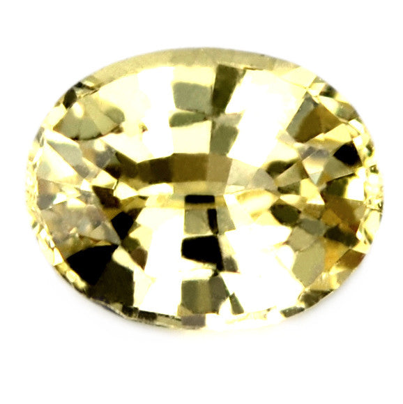 0.77ct Certified Natural Yellow Sapphire - sapphirebazaar - 1