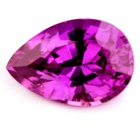 1.15 ct Certified Natural Purple Sapphire