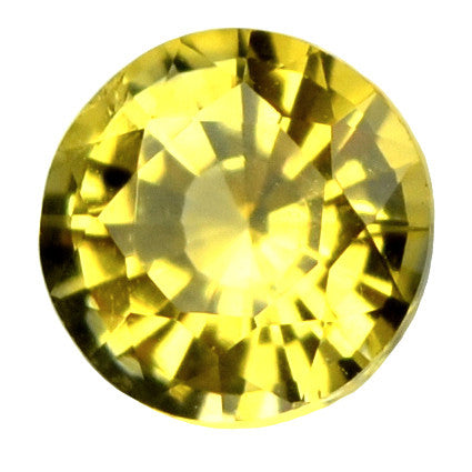 0.33 ct Certified Natural Yellow Sapphire