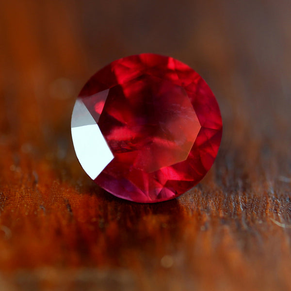 1.09ct Certified Natural Red Ruby