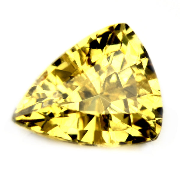 Certified Natural Unheated 1.0ct Yellow Sapphire - sapphirebazaar - 1