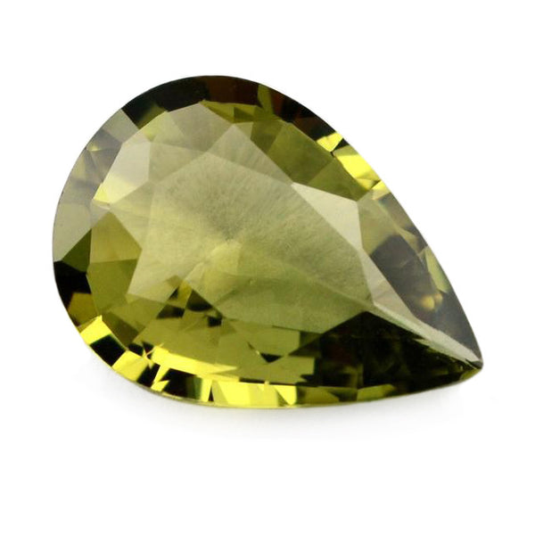 0.97 ct Certified Natural Green Sapphire