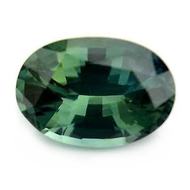 1.21ct Certified Natural Green Sapphire