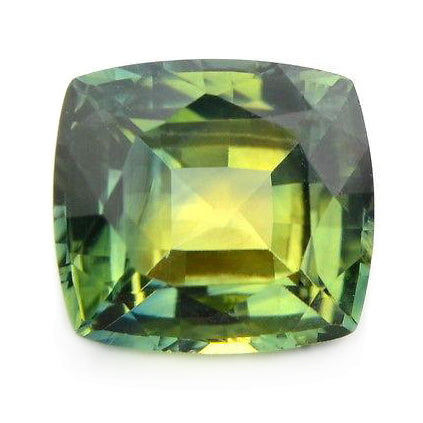 1.50ct Certified Natural Green Sapphire