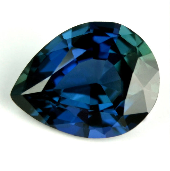 Certified Natural Unheated 0.74ct Blue Sapphire - sapphirebazaar - 1