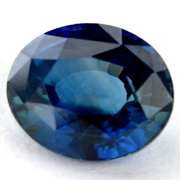 1.11ct Certified Natural Blue Sapphire