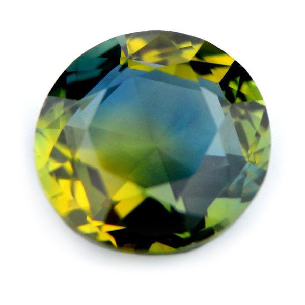 0.57 ct Certified Natural Multicolor Sapphire