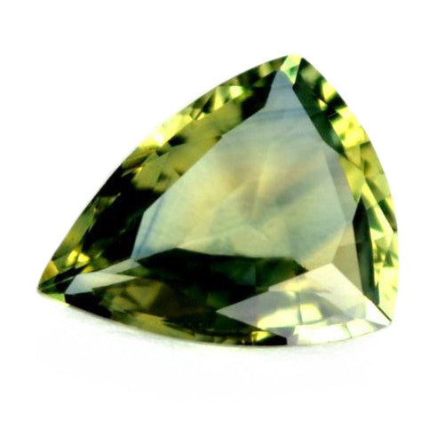 1.12 ct Certified Natural Green Sapphire