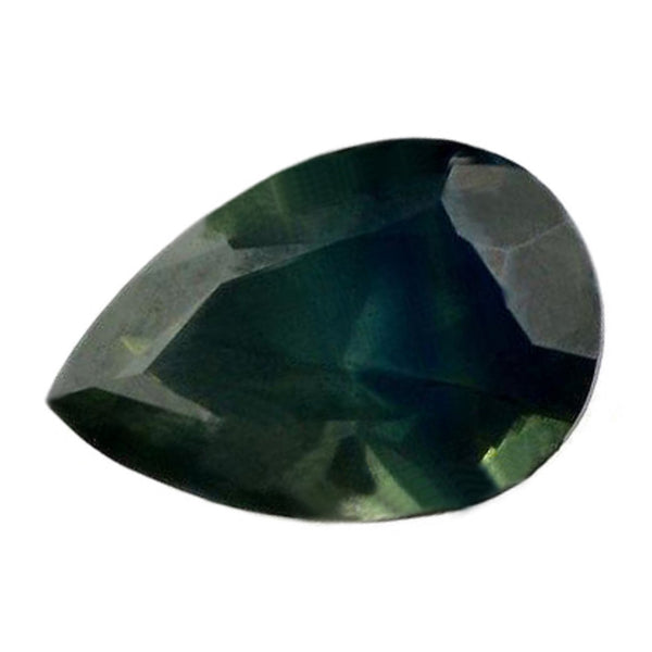 0.85ct Certified Natural Green Sapphire