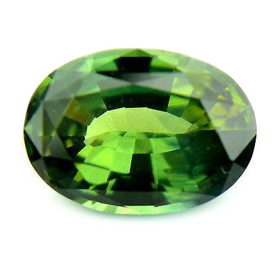 1.39ct Certified Natural Green Sapphire