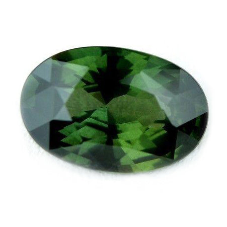 1.84ct Certified Natural Green Sapphire