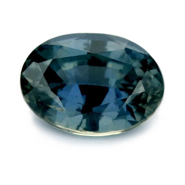 1.17 ct Certified Natural Teal Sapphire