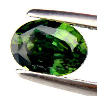 1.55ct Certified Natural Green Sapphire