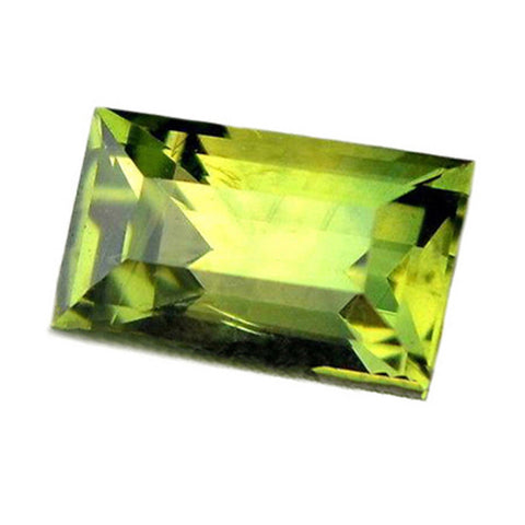 0.29ct Certified Natural Green Sapphire