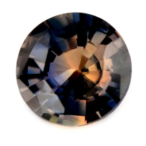 0.70 ct Certified Natural Multicolor Sapphire