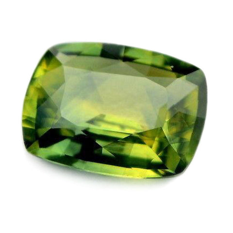 1.02ct Certified Natural Green Sapphire