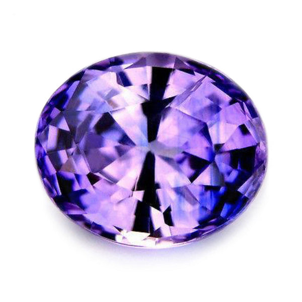 0.95ct Certified Natural Violet Sapphire