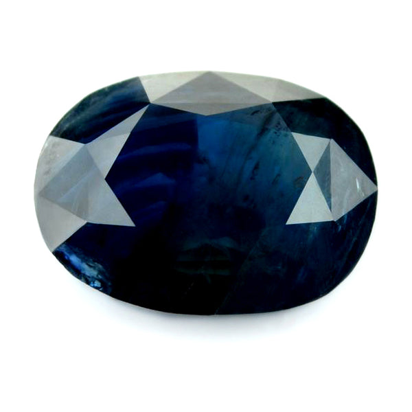 4.35 ct Certified Natural Blue Sapphire