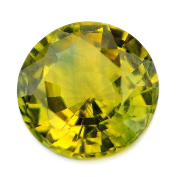 0.52ct Certified Natural Green Sapphire