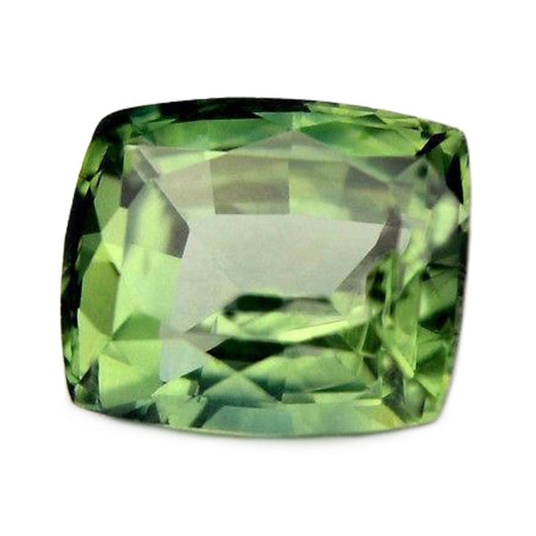 0.95ct Certified Natural Green Sapphire