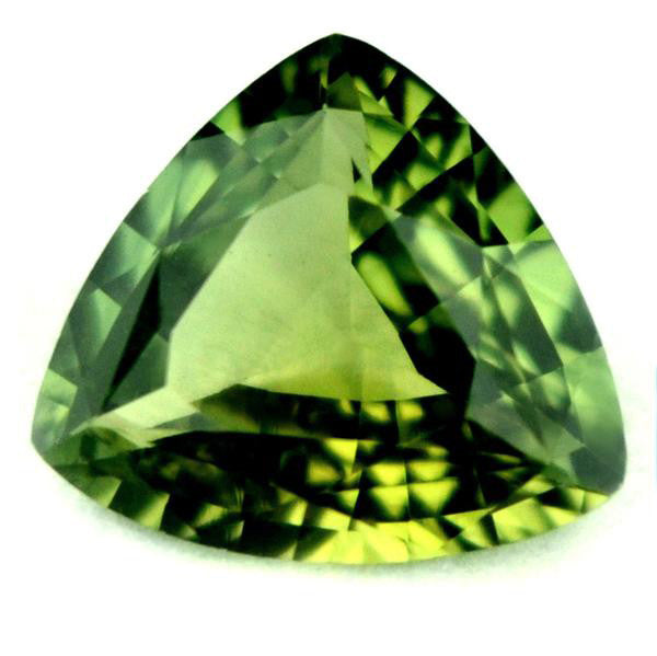 1.02 ct Certified Natural Green Sapphire