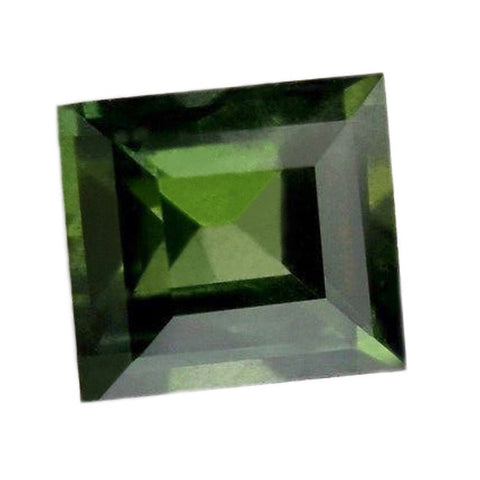 0.45ct Certified Natural Green Sapphire