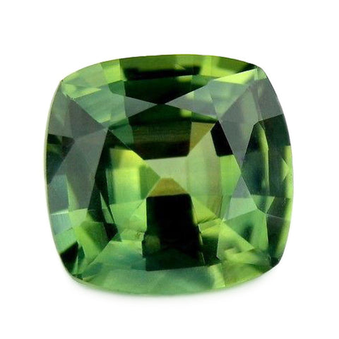 1.54ct Certified Natural Green Sapphire