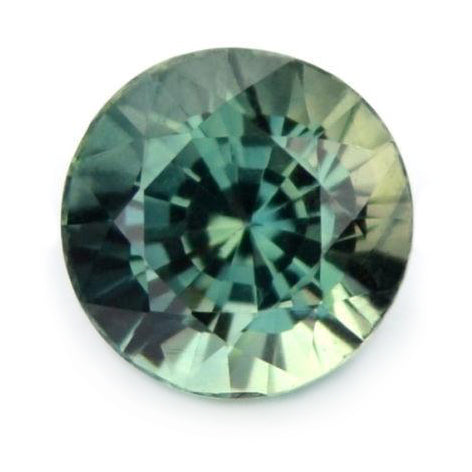 4.69 mm Certified Natural Teal Sapphire