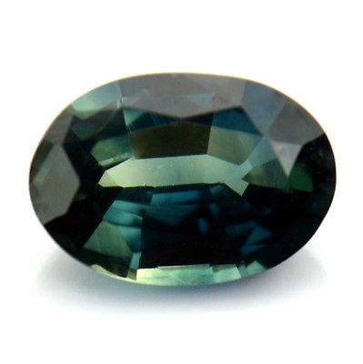 Certified Natural Unheated 0.52ct Prussian Blue Oval Sapphire Vvs Clarity Untreated Madagascar Gem - sapphirebazaar - 1
