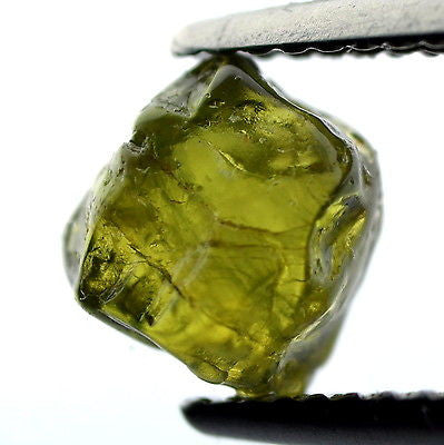 Certified Natural Unheated 2.45ct Facet Quality Greenish Rough Sapphire Madagascar Si Clarity Gemstone - sapphirebazaar - 1