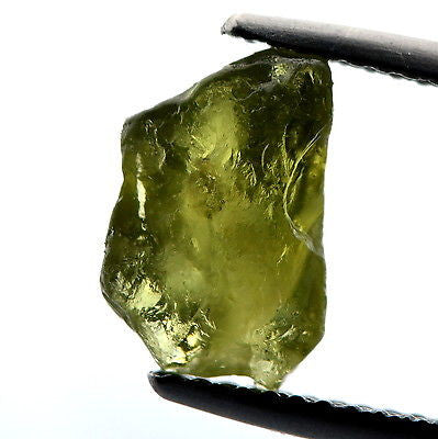 Certified Rough Green Unheated Untreated Sapphire 3.09ct Madagascar Gem - sapphirebazaar - 1